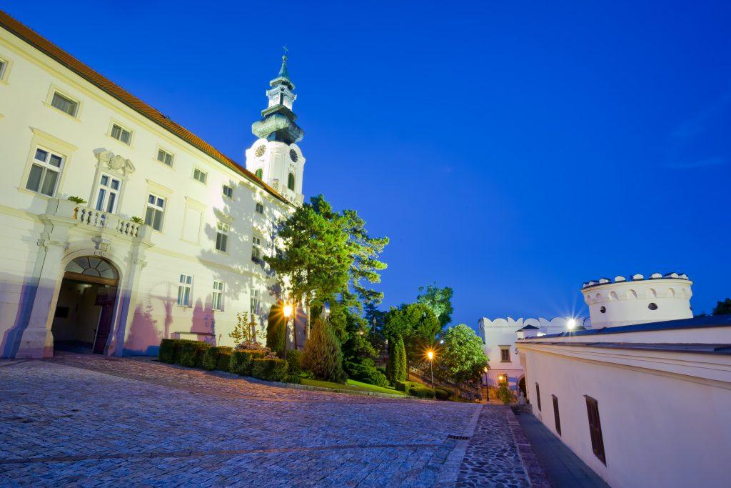 história Slovenska, Nitriansky hrad
