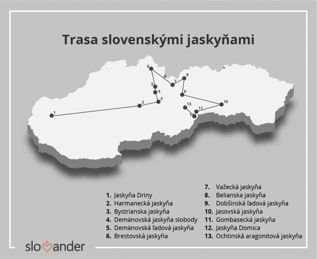 trasa-slovenskymi-jaskynami-mapa-slovenska