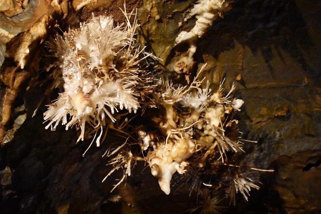 ochtinska-aragonitova-jaskyna-aragonit-kalcit-vyzdoba