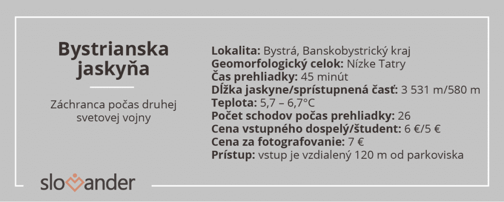 bystrianska-jaskyna-informacie
