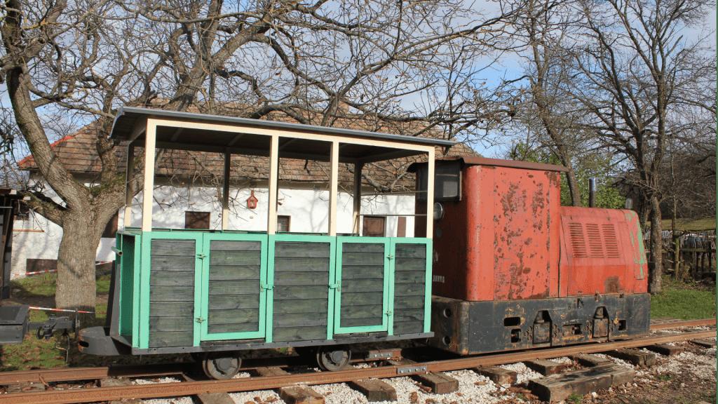 lesna-zeleznica-lokomotiva-stromy-kolaje-vagon