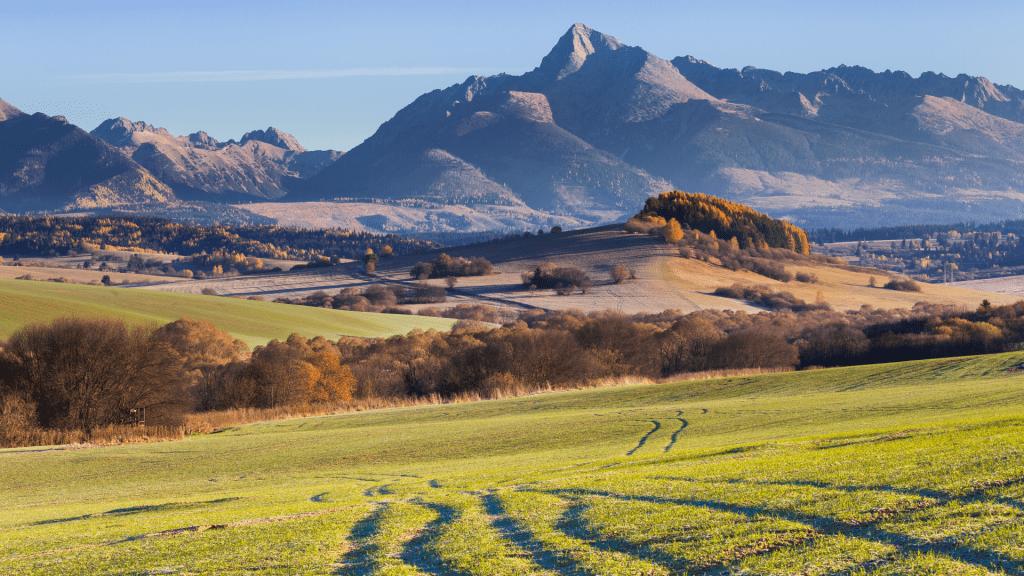 krivan-vyhlad-rano-luky-lesy-kriky-kopce-hory-obloha-priroda