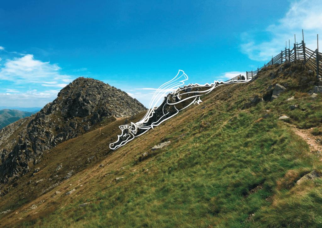 chopok-hory-trava-skaly-dracia-nevesta-legenda-drak